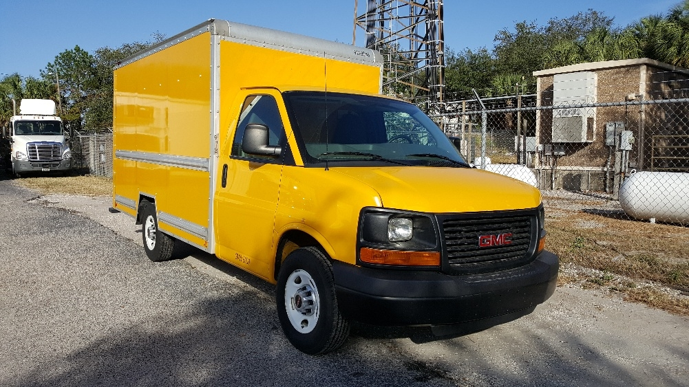 Light Duty Box Truck-Light and Medium Duty Trucks-GMC-2012-Savana G33503-TAMPA-FL-133,218 miles-$14,750