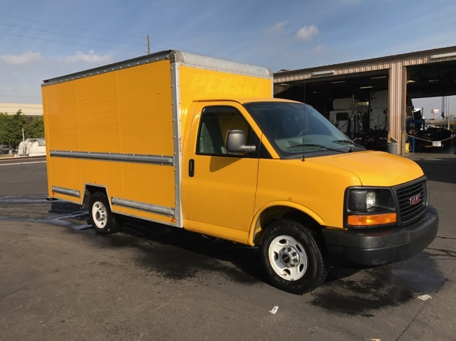Light Duty Box Truck-Light and Medium Duty Trucks-GMC-2012-Savana G33503-SAN MARCOS-CA-115,710 miles-$18,250