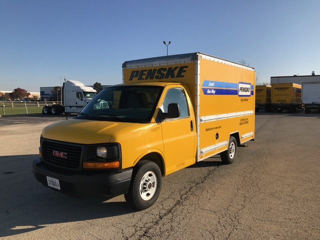 Light Duty Box Truck-Light and Medium Duty Trucks-GMC-2012-Savana G33503-ROMEOVILLE-IL-89,152 miles-$15,750