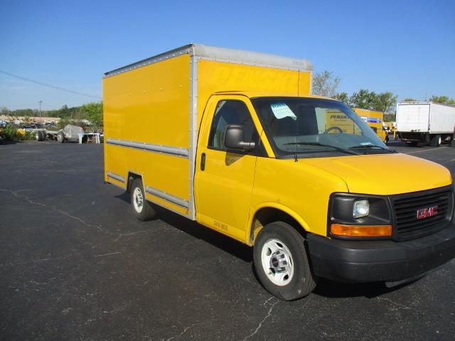 Light Duty Box Truck-Light and Medium Duty Trucks-GMC-2012-Savana G33503-CINCINNATI-OH-123,056 miles-$15,750