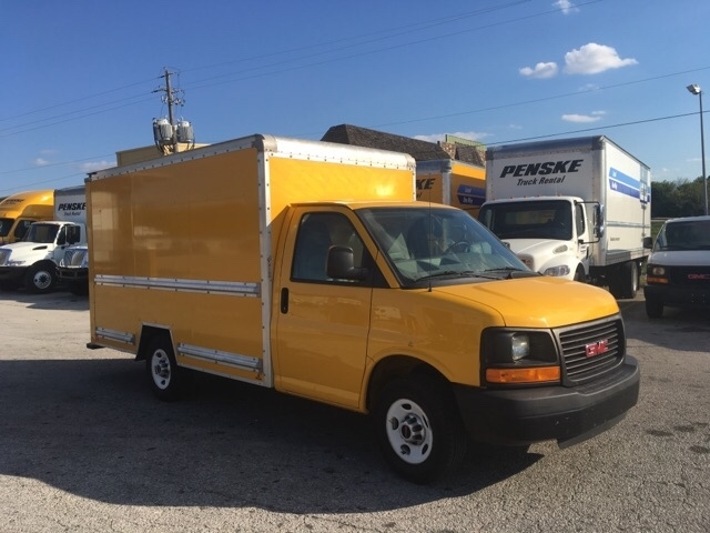 Light Duty Box Truck-Light and Medium Duty Trucks-GMC-2012-Savana G33503-LOWELL-AR-99,942 miles-$19,500
