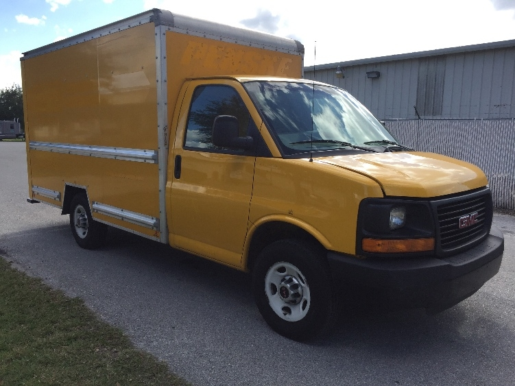 Light Duty Box Truck-Light and Medium Duty Trucks-GMC-2012-Savana G33503-OCALA-FL-124,648 miles-$15,500