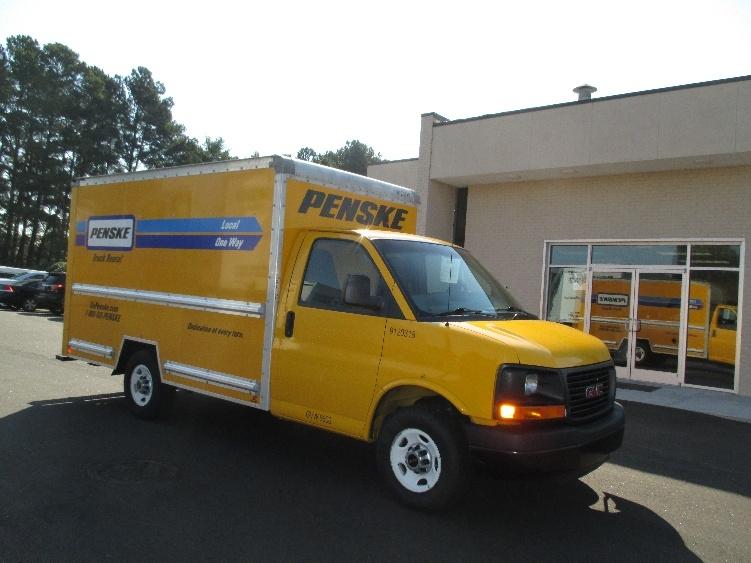 Light Duty Box Truck-Light and Medium Duty Trucks-GMC-2012-Savana G33503-SPARTANBURG-SC-124,522 miles-$17,500