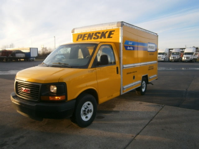 Light Duty Box Truck-Light and Medium Duty Trucks-GMC-2013-Savana G33503-COLUMBIA-TN-118,229 miles-$15,500