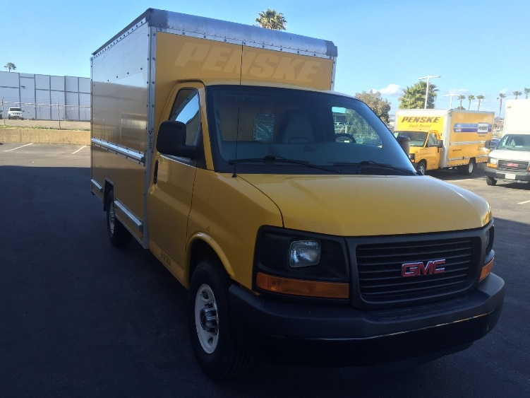 Light Duty Box Truck-Light and Medium Duty Trucks-GMC-2013-Savana G33503-NATIONAL CITY-CA-119,420 miles-$15,500
