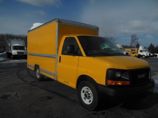 Light Duty Box Truck-Light and Medium Duty Trucks-GMC-2013-Savana G33503-MONTGOMERY-NY-101,360 miles-$16,500