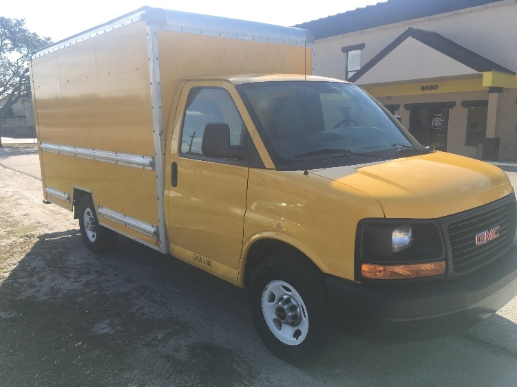 Light Duty Box Truck-Light and Medium Duty Trucks-GMC-2013-Savana G33503-FORT MYERS-FL-123,285 miles-$15,500