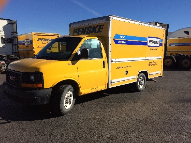 Light Duty Box Truck-Light and Medium Duty Trucks-GMC-2013-Savana G33503-ALBUQUERQUE-NM-109,024 miles-$16,250