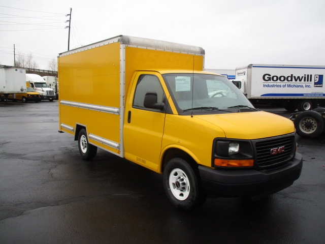 Light Duty Box Truck-Light and Medium Duty Trucks-GMC-2013-Savana G33503-ELKHART-IN-92,610 miles-$17,000