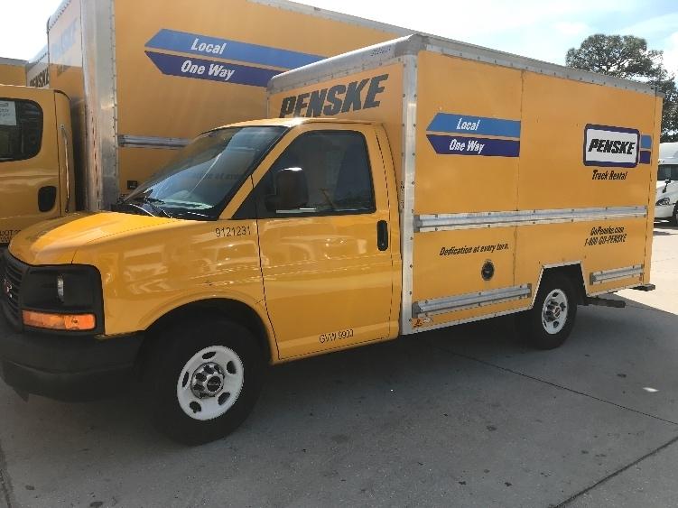 Light Duty Box Truck-Light and Medium Duty Trucks-GMC-2014-Savana G33503-WATERBURY-CT-99,024 miles-$15,000