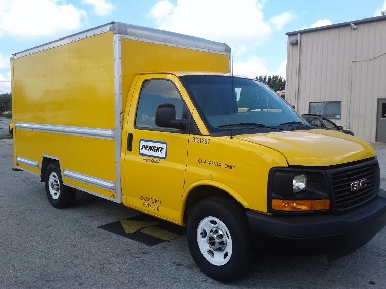 Light Duty Box Truck-Light and Medium Duty Trucks-GMC-2014-Savana G33503-LOWELL-AR-103,505 miles-$19,250