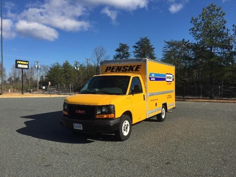 Light Duty Box Truck-Light and Medium Duty Trucks-GMC-2014-Savana G33503-CHARLOTTESVILLE-VA-95,290 miles-$20,500