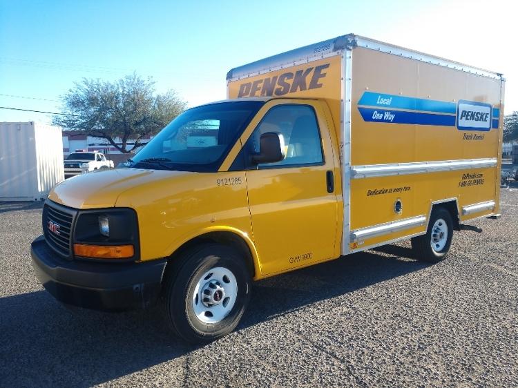 Light Duty Box Truck-Light and Medium Duty Trucks-GMC-2014-Savana G33503-TUCSON-AZ-110,855 miles-$15,750