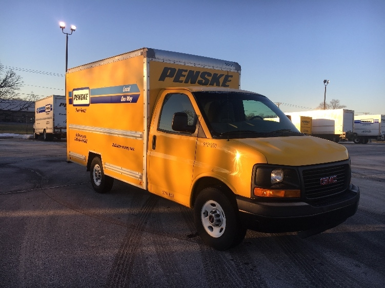 Light Duty Box Truck-Light and Medium Duty Trucks-GMC-2014-Savana G33503-ELKHART-IN-108,974 miles-$17,750