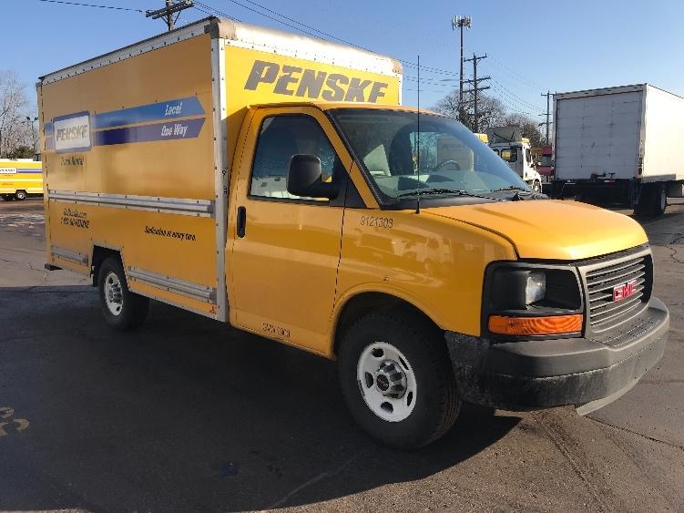 Light Duty Box Truck-Light and Medium Duty Trucks-GMC-2014-Savana G33503-PLYMOUTH-MI-119,329 miles-$15,000