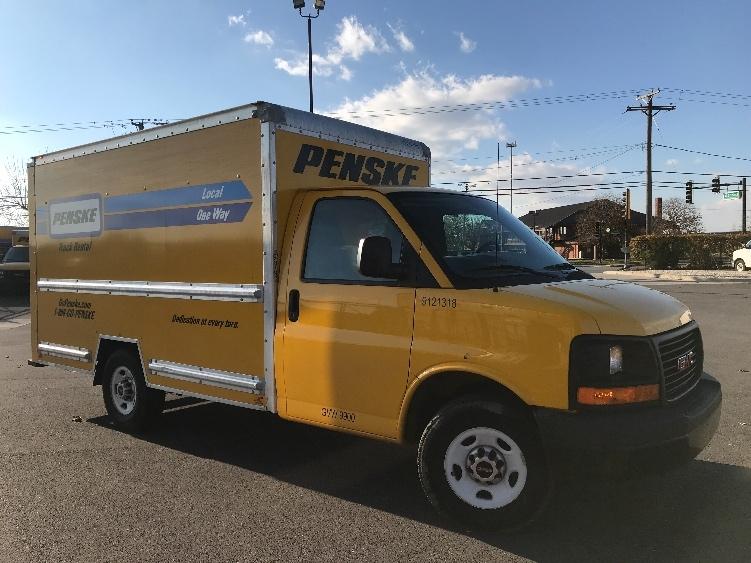 Light Duty Box Truck-Light and Medium Duty Trucks-GMC-2014-Savana G33503-CHICAGO RIDGE-IL-60,964 miles-$23,750