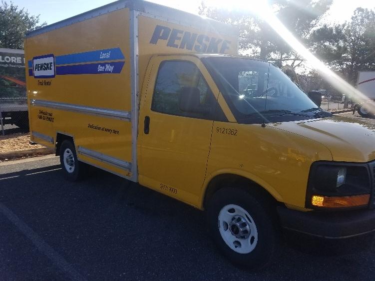 Light Duty Box Truck-Light and Medium Duty Trucks-GMC-2014-Savana G33503-FREDERICKSBURG-VA-98,706 miles-$16,500