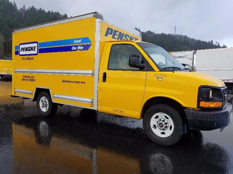Light Duty Box Truck-Light and Medium Duty Trucks-GMC-2014-Savana G33503-PORTLAND-OR-79,782 miles-$21,750