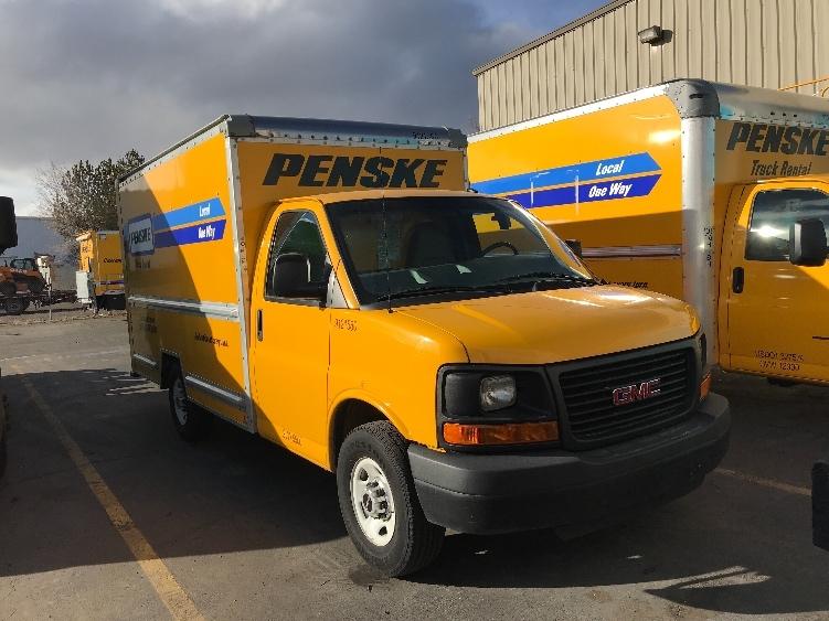 Light Duty Box Truck-Light and Medium Duty Trucks-GMC-2015-Savana G33503-SPARKS-NV-104,110 miles-$14,500