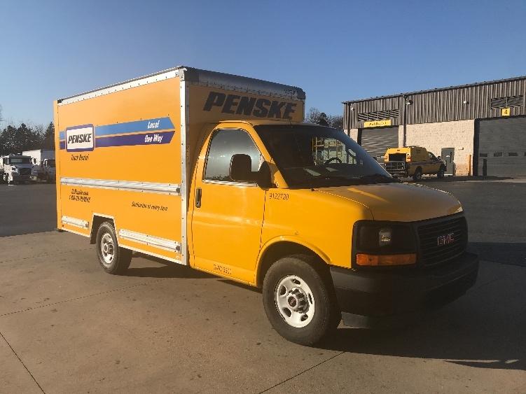 Light Duty Box Truck-Light and Medium Duty Trucks-GMC-2017-Savana G33503-SALEM-VA-62,013 miles-$25,500