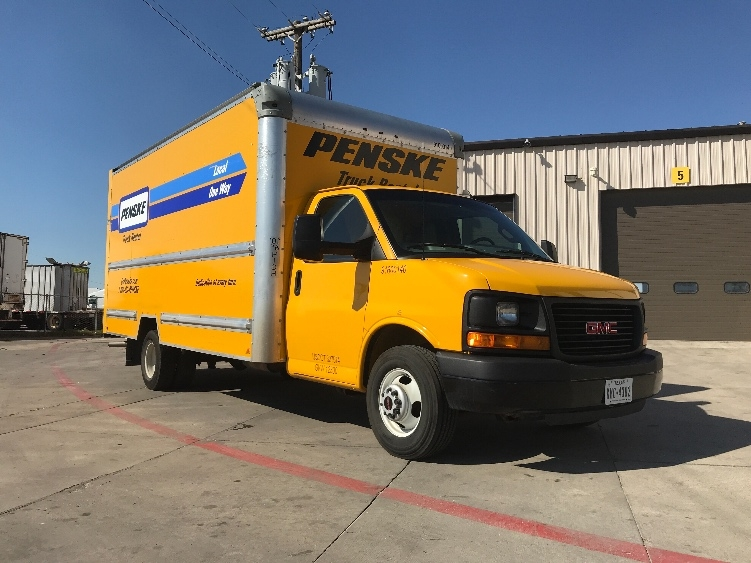 Light Duty Box Truck-Light and Medium Duty Trucks-GMC-2016-Savana G33903-DALLAS-TX-72,861 miles-$24,000