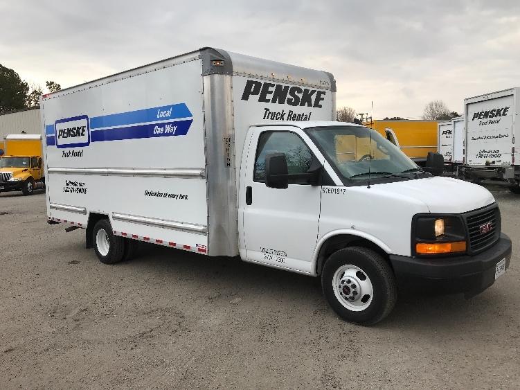 Light Duty Box Truck-Light and Medium Duty Trucks-GMC-2016-Savana G33903-CHESAPEAKE-VA-53,705 miles-$29,250