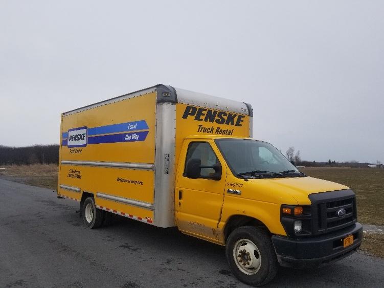 Light Duty Box Truck-Light and Medium Duty Trucks-Ford-2016-E350-EAST SYRACUSE-NY-108,403 miles-$21,500