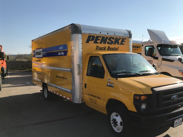 Light Duty Box Truck-Light and Medium Duty Trucks-Ford-2016-E350-CARROLLTON-TX-52,223 miles-$24,500