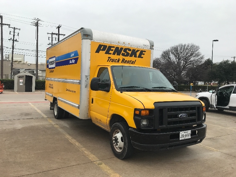 Light Duty Box Truck-Light and Medium Duty Trucks-Ford-2016-E350-DALLAS-TX-70,376 miles-$23,750