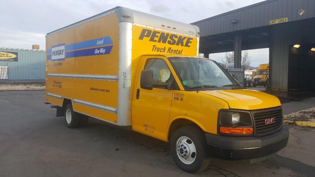 Light Duty Box Truck-Light and Medium Duty Trucks-GMC-2012-Savana G33903-SPARKS-NV-134,596 miles-$13,000