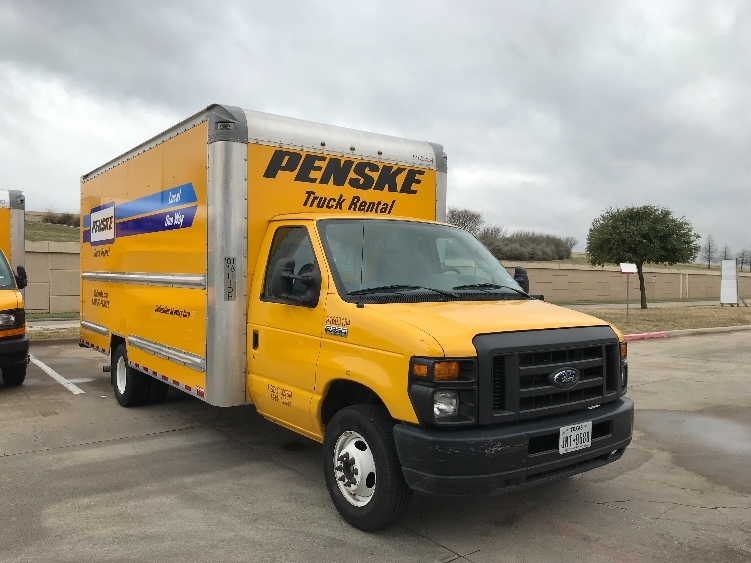 Light Duty Box Truck-Light and Medium Duty Trucks-Ford-2016-E350-CARROLLTON-TX-63,224 miles-$24,500