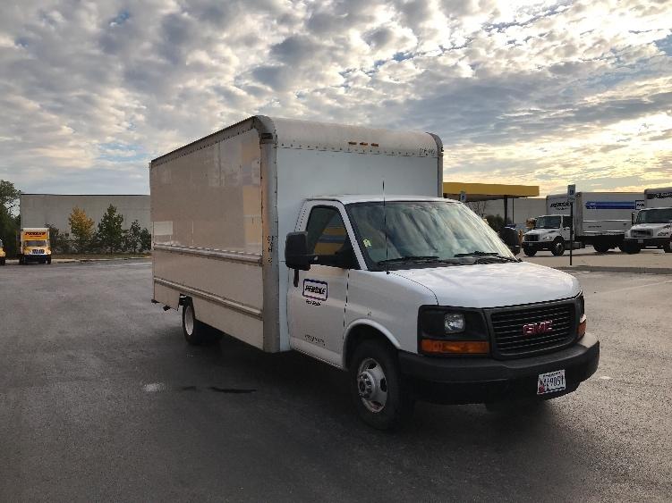 Light Duty Box Truck-Light and Medium Duty Trucks-GMC-2012-Savana G33903-BALTIMORE-MD-130,003 miles-$16,000