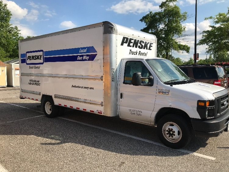 Light Duty Box Truck-Light and Medium Duty Trucks-Ford-2016-E350-CHESAPEAKE-VA-80,077 miles-$21,750