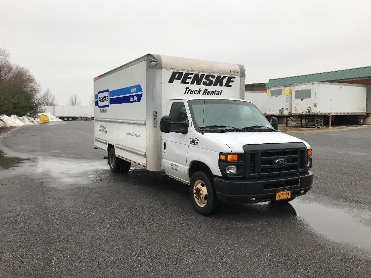 Light Duty Box Truck-Light and Medium Duty Trucks-Ford-2016-E350-ALBANY-NY-73,084 miles-$26,000