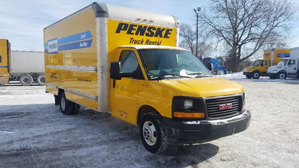 Light Duty Box Truck-Light and Medium Duty Trucks-GMC-2012-Savana G33903-EAGAN-MN-120,147 miles-$14,500
