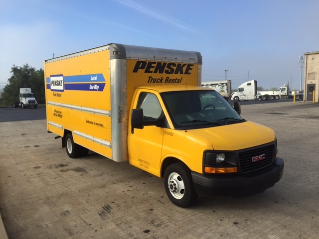 Light Duty Box Truck-Light and Medium Duty Trucks-GMC-2012-Savana G33903-ALLENTOWN-PA-112,229 miles-$13,250