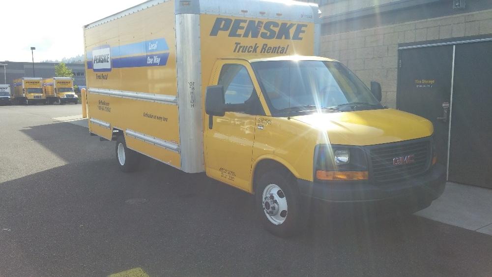 Light Duty Box Truck-Light and Medium Duty Trucks-GMC-2012-Savana G33903-PORTLAND-OR-145,842 miles-$11,750