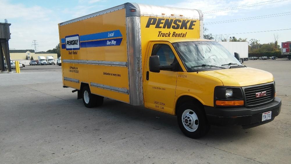 Light Duty Box Truck-Light and Medium Duty Trucks-GMC-2012-Savana G33903-PERRYSBURG-OH-147,032 miles-$11,750