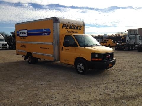 Light Duty Box Truck-Light and Medium Duty Trucks-GMC-2012-Savana G33903-BUFFALO-NY-106,187 miles-$15,250