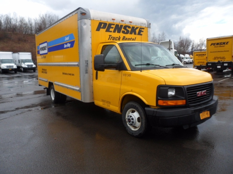 Light Duty Box Truck-Light and Medium Duty Trucks-GMC-2012-Savana G33903-BINGHAMTON-NY-102,814 miles-$11,750
