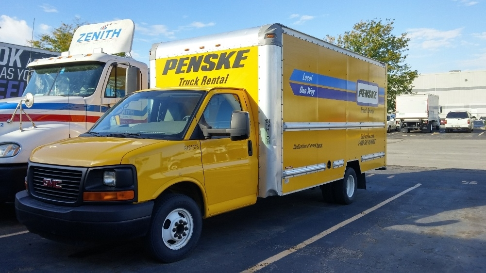 Light Duty Box Truck-Light and Medium Duty Trucks-GMC-2012-Savana G33903-INDIANAPOLIS-IN-124,273 miles-$13,000