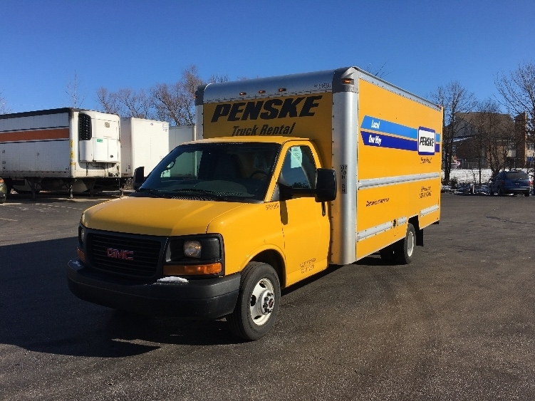 Light Duty Box Truck-Light and Medium Duty Trucks-GMC-2012-Savana G33903-EVANSVILLE-IN-144,441 miles-$11,500