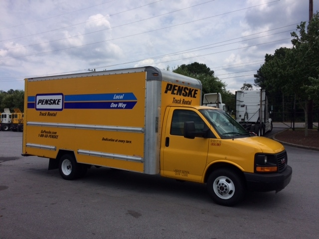 Light Duty Box Truck-Light and Medium Duty Trucks-GMC-2012-Savana G33903-CONYERS-GA-117,546 miles-$12,750