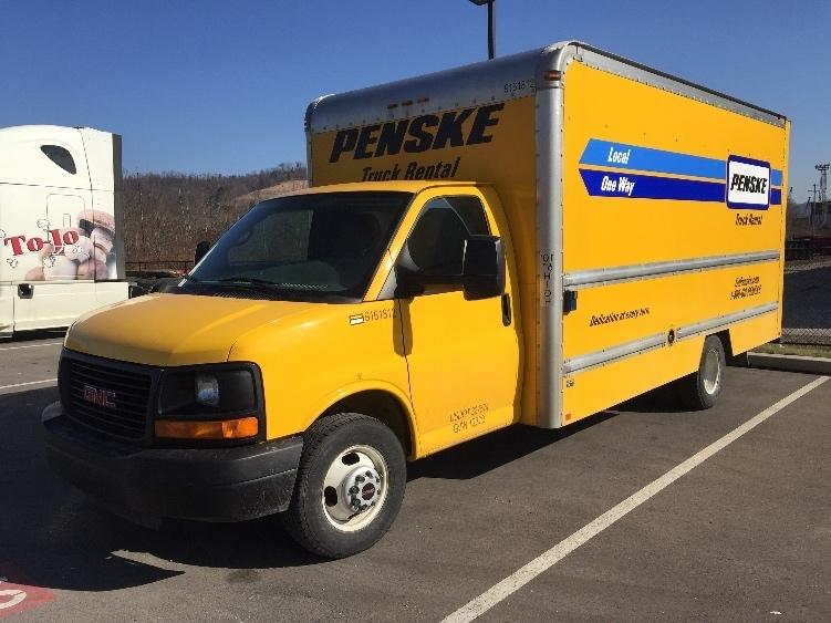 Light Duty Box Truck-Light and Medium Duty Trucks-GMC-2012-Savana G33903-PITTSBURGH-PA-104,853 miles-$15,500
