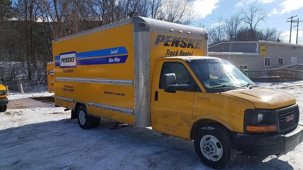 Light Duty Box Truck-Light and Medium Duty Trucks-GMC-2012-Savana G33903-ALLEN PARK-MI-106,661 miles-$15,250