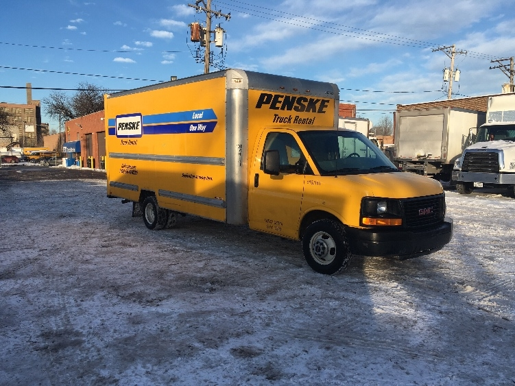 Light Duty Box Truck-Light and Medium Duty Trucks-GMC-2012-Savana G33903-ELK GROVE VILLAGE-IL-95,960 miles-$16,250