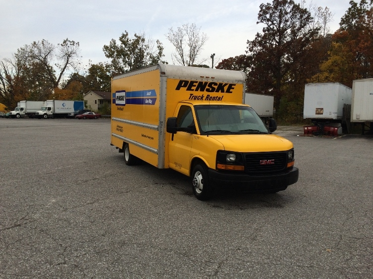 Light Duty Box Truck-Light and Medium Duty Trucks-GMC-2012-Savana G33903-SOUTH BEND-IN-113,009 miles-$14,000