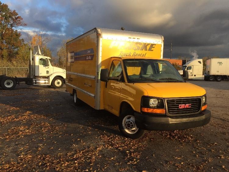 Light Duty Box Truck-Light and Medium Duty Trucks-GMC-2012-Savana G33903-AKRON-OH-105,349 miles-$15,500
