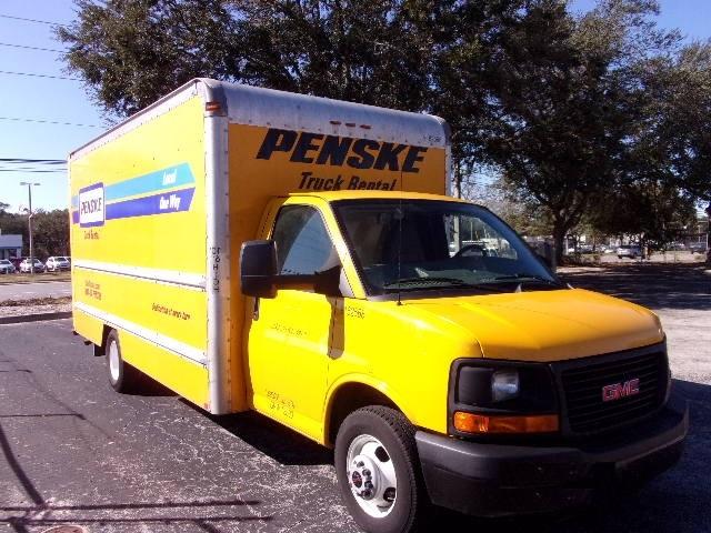 Light Duty Box Truck-Light and Medium Duty Trucks-GMC-2012-Savana G33903-PERRYSBURG-OH-127,586 miles-$14,000