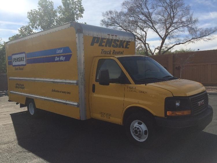 Light Duty Box Truck-Light and Medium Duty Trucks-GMC-2012-Savana G33903-PHOENIX-AZ-110,318 miles-$14,500